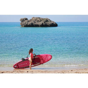 "Inflatable Paddle Board - Aqua Marina 2021 Coral 10'2"" Inflatable Paddle Board ISUP BT-21COP"