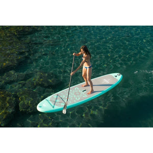 "Inflatable Paddle Board - Aqua Marina 2021 Dhyana 11'10"" Yoga Inflatable SUP BT-21DHP Ships"