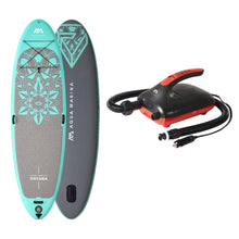 "Load image into Gallery viewer, Inflatable Paddle Board - Aqua Marina 2021 Dhyana 11'10"" Yoga Inflatable SUP BT-21DHP  Ships In February"