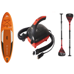 "Inflatable Paddle Board - Aqua Marina 2021 Fusion 10'10"" Inflatable Paddle Board ISUP BT-21FUP Ships In January"