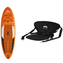 "Load image into Gallery viewer, Inflatable Paddle Board - Aqua Marina 2021 Fusion 10'10"" Inflatable Paddle Board ISUP BT-21FUP Ships In January"