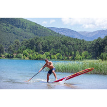 "Load image into Gallery viewer, Inflatable Paddle Board - Aqua Marina 2021 Race 12'6"" Inflatable Paddle Board ISUP BT-21RA01"