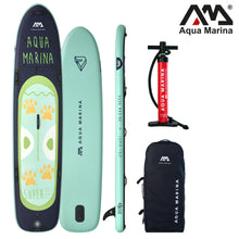 "Load image into Gallery viewer, Inflatable Paddle Board - Aqua Marina 2021 Super Trip Tandem 14"" Inflatable Paddle Board ISUP BT-20ST02 Ships In February"