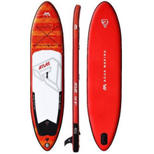 Load image into Gallery viewer, Inflatable Paddle Board - Aqua Marina Atlas 12' ADVANCED All-Around Inflatable Paddle Board ISUP BT-19ATP