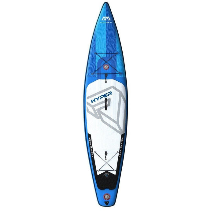 Inflatable Paddle Board - Aqua Marina Hyper 12'6 Touring ISUP BT-19HY02