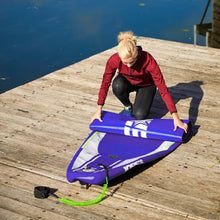 Load image into Gallery viewer, Inflatable Paddle Board - Jobe Desna Aero 10.0 Inflatable Stand Up Paddle Board Package Purple 568383