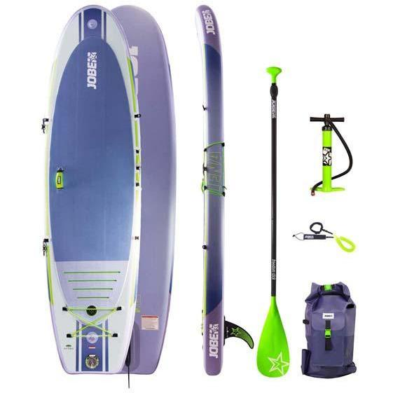 Inflatable Paddle Board - Jobe Lena Aero 10.6 Inflatable Paddle Board Package Purple  568380