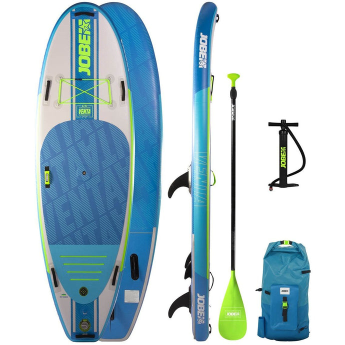 Inflatable Paddle Board - Jobe Venta Aero 9.6 Package Blue  103158