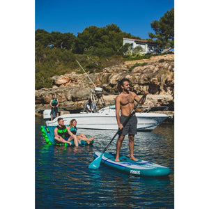 Inflatable Paddle Board - Jobe Yarra Aero 10.6 Inflatable Stand Up Paddle Board Package Blue 568377