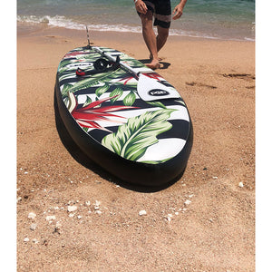 "Inflatable Paddle Board - POP Board Co 10'6"" Royal Hawaiian Pink/ Black"