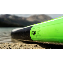 "Load image into Gallery viewer, Inflatable Paddle Board - POP Board Co 11'0"" The POP Up Green/ Black"
