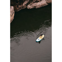 "Load image into Gallery viewer, Inflatable Paddle Board - POP Board Co 11'0"" The POP Up Yellow/ Turquoise"