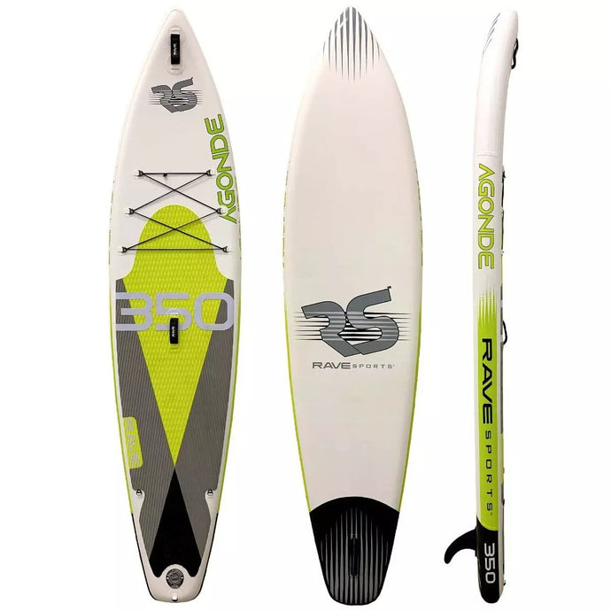 Inflatable Paddle Board - Rave Sports Agonde ISUP - Borealis Lime 11'6