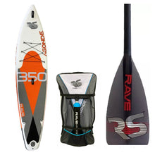 "Load image into Gallery viewer, Inflatable Paddle Board - Rave Sports Agonde ISUP - Mesabi Orange 11'6"" 02945"