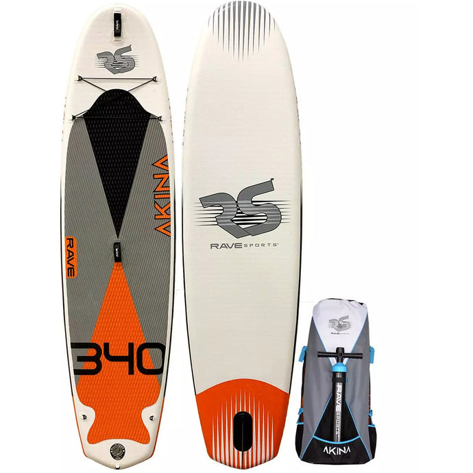 Rave Sports Akina 340 iSUP -Monarch Orange 11'2