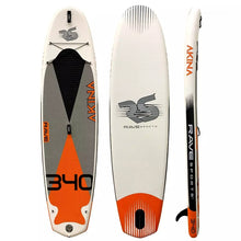 "Load image into Gallery viewer, Rave Sports Akina 340 iSUP -Monarch Orange 11'2"" 02956"