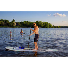 "Load image into Gallery viewer, Inflatable Paddle Board - Rave Sports Hybrid Displacement 11'6"" Cruiser - Seaglass 02881"