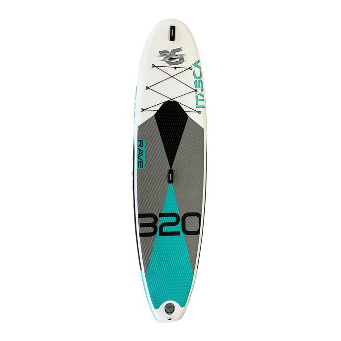 Rave Sports Itasca iSUP - Quarry Blue 10'6