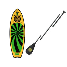 Load image into Gallery viewer, Inflatable Paddle Board - SOL Paddle Boards SOLshine Inflatable Paddle Board - Carbon GalaXy 220001-020300