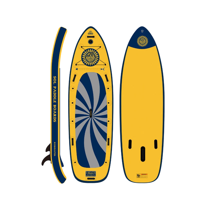 Inflatable Paddle Board - SOL Paddle Boards SOLsombrero Inflatable Paddle Board - GalaXy 150001-050020