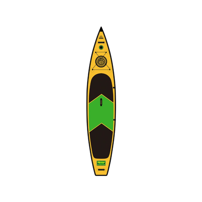 Inflatable Paddle Board - SOL Paddle Boards SOLsonic Inflatable Paddle Board - Carbon GalaXy 170001-070040