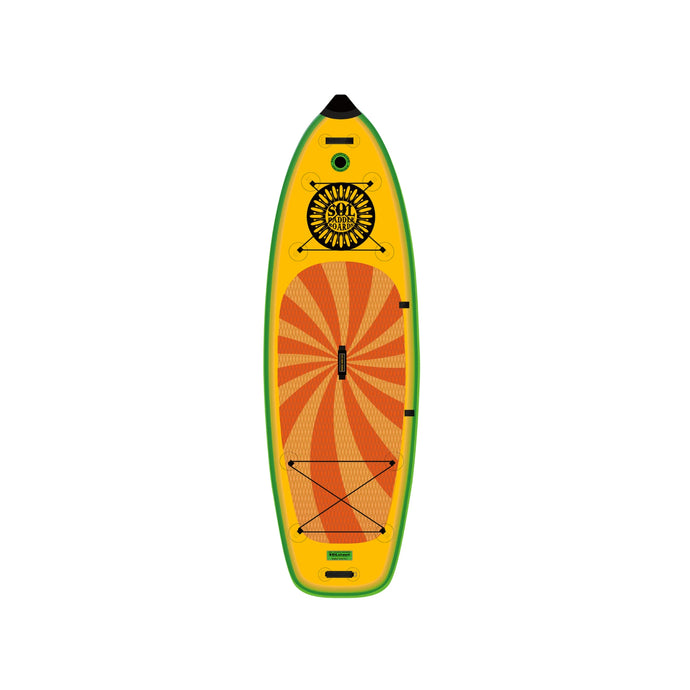 Inflatable Paddle Board - SOL Paddle Boards SOLstout Inflatable Paddle Board - Classic 110001-110025