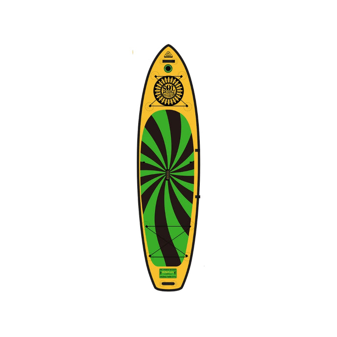 Inflatable Paddle Board - SOL Paddle Boards SOLtrain Inflatable Paddle Board - Carbon GalaXy 230001-030300