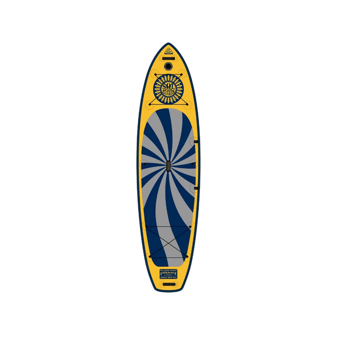 Inflatable Paddle Board - SOL Paddle Boards SOLtrain Inflatable Paddle Board - GalaXy 130001-030300