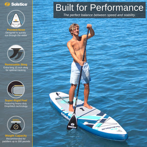 Inflatable Paddle Board - Solstice Watersports Islander Inflatable Stand-up Paddleboard 36134 - Ships End Of Nov.