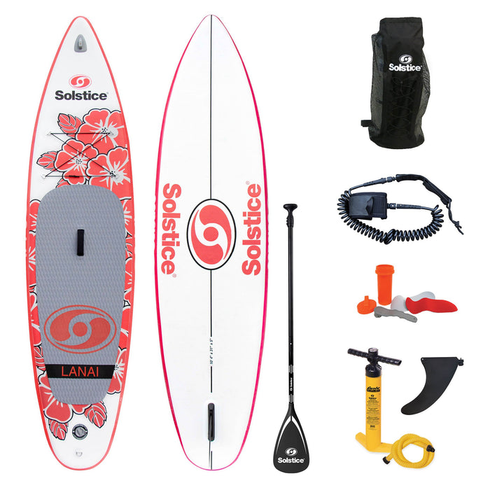 Inflatable Paddle Board - Solstice Watersports Lanai Inflatable Stand-up Paddleboard 35125 - Ships End Of Nov.
