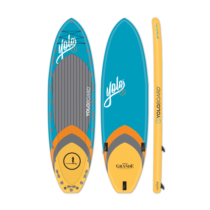 Inflatable Paddle Board - Yolo Grande Paddle Board Multi-Person Inflatable SUP