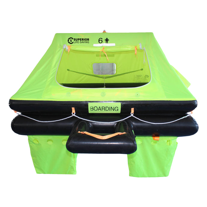Life Raft - Superior Life-Saving Offshore Stream Liferaft, 4 - 8 Person