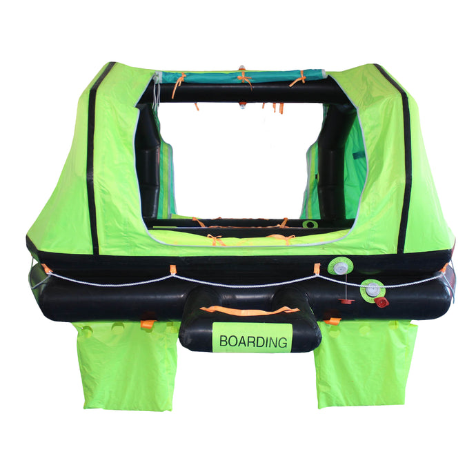 Liferaft - Superior Life-Saving ISO Wave Breaker Self-Righting Liferaft, 4-8 Person