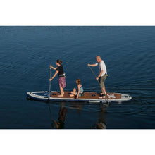 Load image into Gallery viewer, Paddle Board - AquaGlide 14' Blackfoot Tandem Angler Inflatable Stand Up Paddle Board 585617114