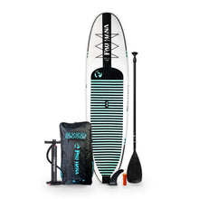 Load image into Gallery viewer, Paddle Board - Pau Hana Big EZ Hawaiian Air 11' Inflatable Stand Up Paddle Board ISUP 1911-I-BIG-WBT