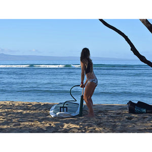 Paddle Board - Pau Hana Big EZ Hawaiian Air 11' Inflatable Stand Up Paddle Board ISUP 1911-I-BIG-WBT