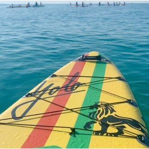 Paddle Board - Yolo 2020 Rasta 12' Inflatable Stand Up Paddleboard ISUP