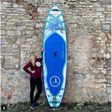 Load image into Gallery viewer, Paddle Board - Yolo Honu 12' Inflatable Stand Up Paddleboard ISUP