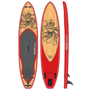 Paddle Board - Yolo Octoscuba 12' Inflatable Stand Up Paddle Board ISUP