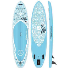 Load image into Gallery viewer, Paddle Board - Yolo Tattoo 11' Inflatable Stand Up Paddleboard ISUP