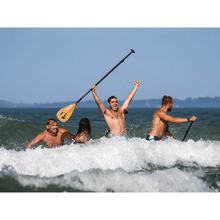 Load image into Gallery viewer, Paddle - Pau Hana Three Piece Carbon Teak SUP Paddle  1872-PDL-3PCE-CBF
