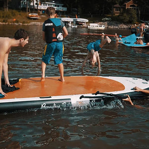 Platforms/Mats - ParadisePad Multi Person 17x5 Stand Up Paddleboard PP-SUP