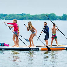 Load image into Gallery viewer, Platforms/Mats - ParadisePad Multi Person 17x5 Stand Up Paddleboard PP-SUP