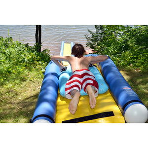 Platforms/Mats - Rave Sports 60' Extreme Turbo Chute Water Slide Package