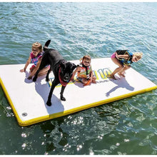 Load image into Gallery viewer, Platforms/Mats - Rave Sports Whoosh 10' Water Mat Inflatable Activity Platform (White)