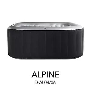 Portable Spa - M-SPA Alpine 4 Person Delight Portable Spa D-AL04