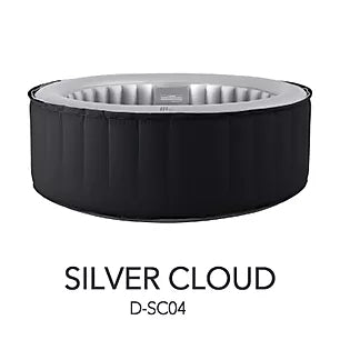 Portable Spa - M-SPA Silver Cloud 4 Person Delight Portable Spa  D-SC04
