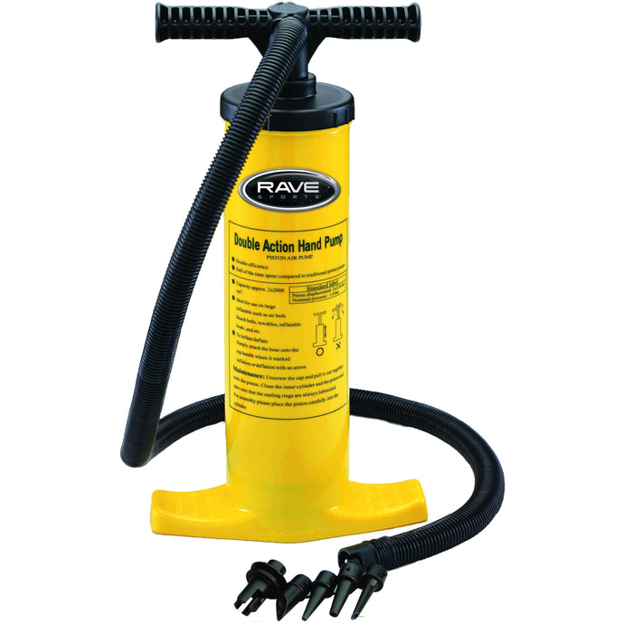 Pump - Rave Double Action Hand Pump 02341