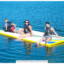 Load image into Gallery viewer, Rave Sports Whoosh 15' Water Mat Inflatable Activity Platform (White)  02828