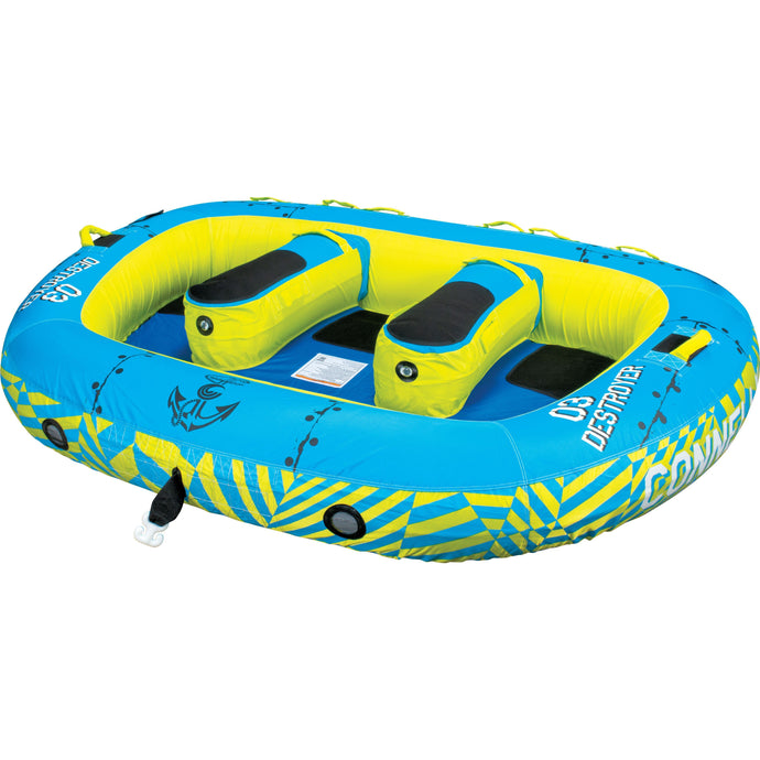 Towables / Tubes - Connelly Destroyer 3 3-Person Towable Tube